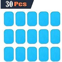 EMS Abs de reemplazo de la hoja de gel, Abdominal Complemento Cinta Accesorios de instrumentos de absorción del músculo 30pcs Sello Gel Gel Leaf (2/pack, 15 paquetes/caja)