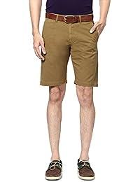 Allen Solly Men Regular Fit Shorts_ALSR515J04361_28_Khaki