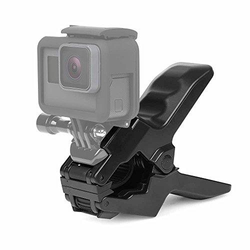 SHOOT Jaws Flex Abrazadera para GoPro Hero 6Black GoPro Hero 5Black GoPro Hero 4/3+/3/2/1y más lejos Acción Cámaras
