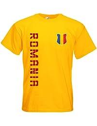 Rumänien România T-Shirt Trikot Name Nummer
