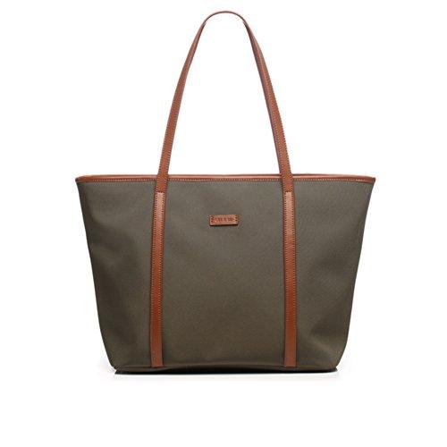 Borsa di tela/ladies singola borsa a tracolla/borsa oxford cloth pendolari/tote bag/borsa grande-O P