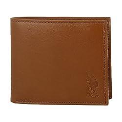 U.S. Polo Assn. Tan Mens Wallet (USAW0488)