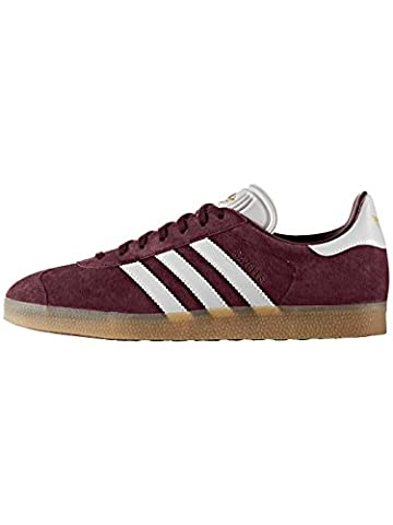 Adidas Gazelle chaussures 9,0 - Bordeaux/Blanc - Taille 43 1/3
