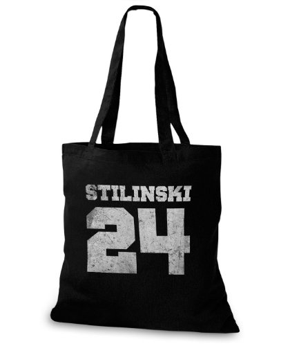 StyloBags Jutebeutel / Tasche Stilinski 24 vintage Style Sky