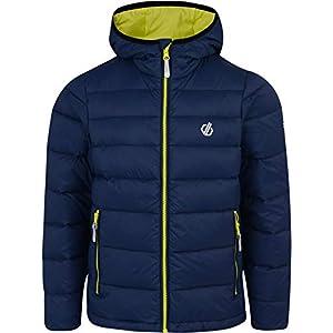 Dare 2b Kinder Infamy Lightweight Insulated Hooded Hybrid Core Stretch Fleece Jacket Dehnbare Mittelschicht