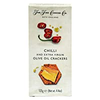 The Fine Cheese Crackers with Chilli and Extra Virgin Olive Oil, 125 GMS