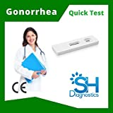 SH Diagnostics- Gonorrhea Home Test (Male & Female)- 98.5% Accuracy, CE Approved, 15min Results