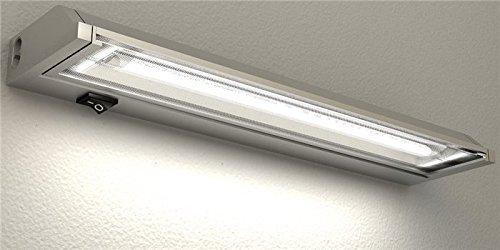 Schwenkleuchte schwenkbar 13W, 58cm Aluminium Wandleuchte Unterbauleuchte Wandlampe Unterbaulampe Werkstattleuchte Werkstattlampe Arbeitsleuchte Arbeitslampe Küchenleuchte Küchenlampe inkl T5 LM