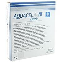 AQUACEL Ag + Extra Quadratische Wundauflagen, 15x 15 cm preisvergleich bei billige-tabletten.eu