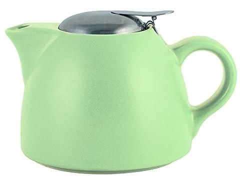 La Cafetiere Barcelona Pistachio Teapot, Ceramic,