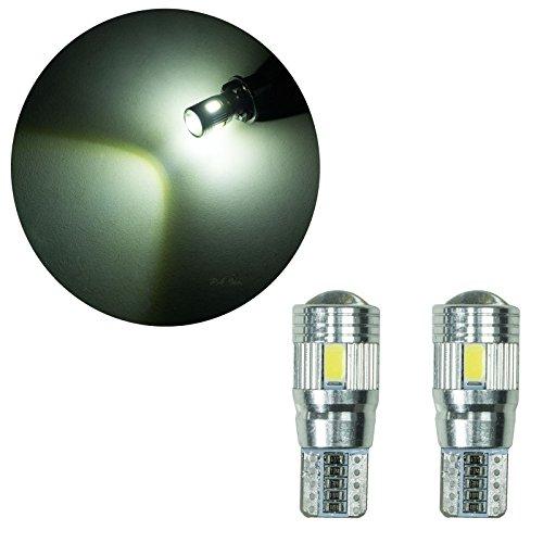 PA 2 x 6 SMD 5630 LED Chips T10 921 T15 194 Blanc 10-30 V extrêmement lumineux automatique de voiture côté marqueur Light/feu de position/Recul clair/conduite lampe/License Plate ampoules