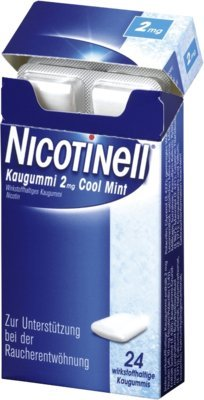 Nicotinell 2mg Cool Mint 24 stk
