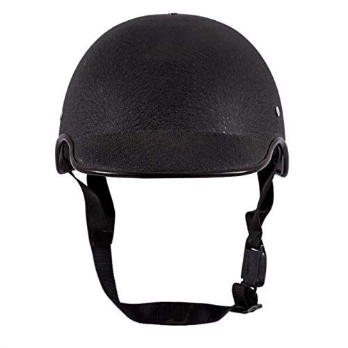 SARTE All Purpose Safety Helmet with Strap (Black, Free Size)