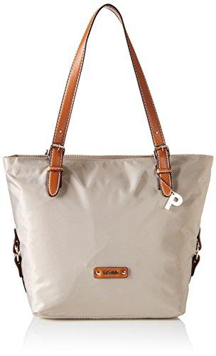 Picard Damen SONJA Shopper, Beige (Perle), 38x27x16 cm - Perlen-geldbörse Handtasche Tasche