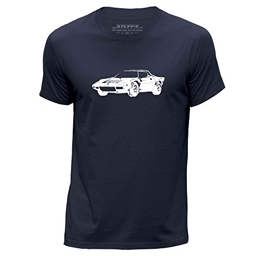 stuff4-mens-large-l-navy-blue-round-neck-t-shirt-stencil-car-art-stratos-hf