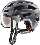 Uvex Finale Visor Helmet Strato Steel Kopfumfang 56-61cm 2019 Fahrradhelm
