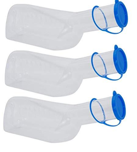 Medi-Inn Urinflaschen PP 3 Stück für Männer