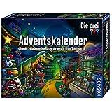 Kosmos 632182 Die drei Adventskalender 2020 Löse die 24 spannenden Rätsel der mysteriösen Spielfiguren, Spielzeug-Adventskale