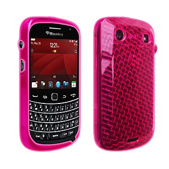 OEM Verizon High Gloss, Silikon-Schutzhülle für Blackberry Bold 9900/9930 (Pink) rim9930silhgpk Verizon Blackberry Bold