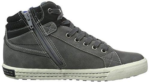 s.Oliver 45100, Sneakers Hautes Garçon Gris (Grey 200)