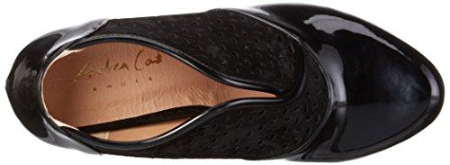 Andrea Conti 1310508, Damen Pumps Schwarz (schwarz 002)