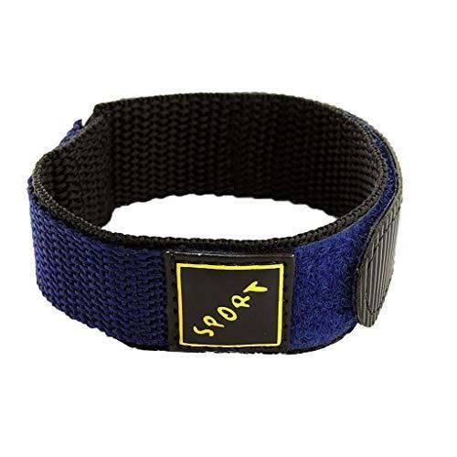 HROIJSL Wrap-Around Nylon Uhrenarmband Sport Herren Damen 22MM Ersatz Uhren-Armband Strap Watch Straps Sicherheitsgurt Stil Gewebtes Gürtel Leder Metall Nylon Silikon kompatibel mit Gear -