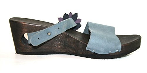 Loints of Holland 21301 Damen Sandalen Blau