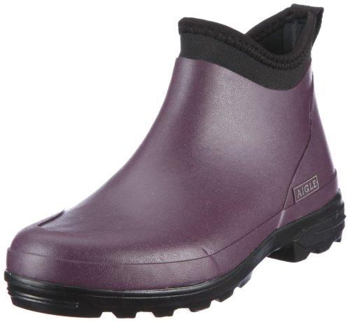 Aigle Landfast Damen Kurzschaft Schlupfstiefel Violett (aubergine 6)