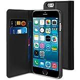 Muvit MUSNS0080 Étui portefeuille avec support pour Apple iPhone 6 Noir