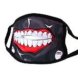 papapanda Mund Maske Reißverschluss Tokyo Ghoul Ken Kaneki