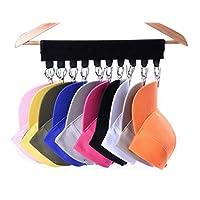 Small Aim Hat Organizer, Cap Racks, Cap Organizer Hanger, 10 Baseball Cap Holder, Cap Organizer for Closet - Change Your Cloth Hanger to Cap Organizer Hanger - Keep Your Hats Cleaner Than a Hat Rack