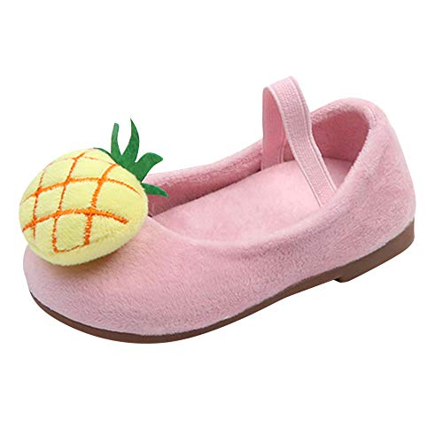 0870138ede579 IMJONO Chaussures Bébé Infantile Automne Hiver Ananas Sweet Princesse  Chaussures Sneakers