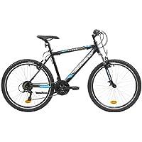 F.lli Schiano Range, Bici MTB Donna, Nero-Blu, 26''