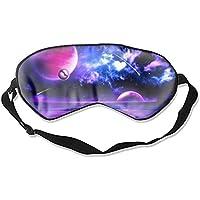 Schlafmaske, Premium-Qualität, magische Sterne, leicht, mit verstellbarem Riemen, blockiert das Licht komplett... preisvergleich bei billige-tabletten.eu