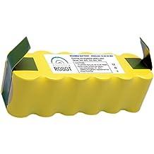 ASP ROBOT Batería ALTA CAPACIDAD 4500mah 14.4V para Roomba 765 Serie 700. Recambio recargable repuesto compatible para aspirador irobot Roomba NI-MH. Serie 7 4,5AH