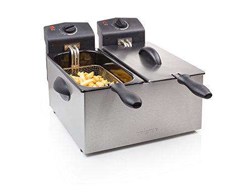 Royal Catering frytownica elektryczna podwójna 2x5L