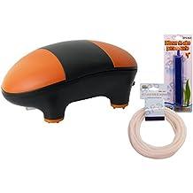 BPS (R) Bomba Aire Oxigenador Compresor incluye manguera y difusor de aire