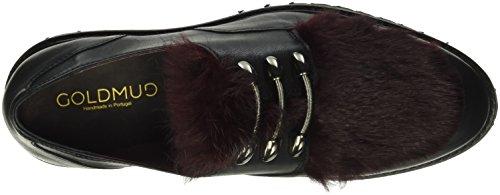 Goldmud Juma Lady, Mocassins Femme Rot (Fur Bordeaux)