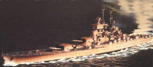 Heller 81077 - modellismo, nave militare jean bart, scala 1:400 [importato da francia]