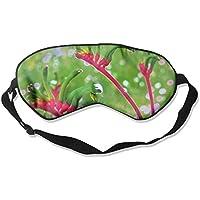 Red And Green Kangaroo Paw 99% Eyeshade Blinders Sleeping Eye Patch Eye Mask Blindfold For Travel Insomnia Meditation preisvergleich bei billige-tabletten.eu