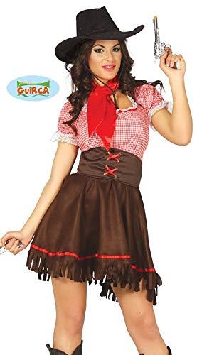 sexy Cowgirl Kostüm für Damen Gr. XS/S - M, Größe:M (Damen Kostüm Cowgirl)
