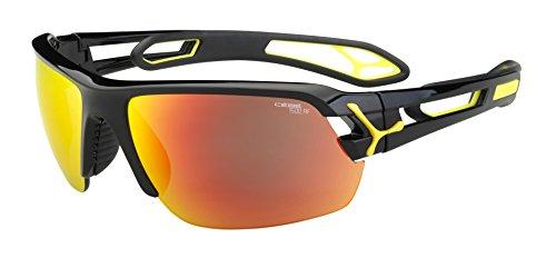 Cébé S'Track - Gafas de sol deportivas, color negro brillante, talla M