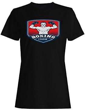 Boxeo Box Hombre Vs Club camiseta de las mujeres m691f