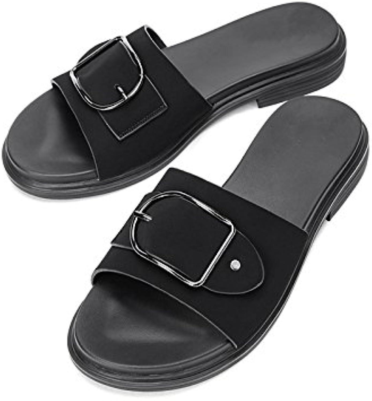 DHG Sandali estivi, Pantofole da donna alla moda, Sandali piatti casual, Sandali con tacco basso a tacco basso... | Vendite Online  | Scolaro/Ragazze Scarpa