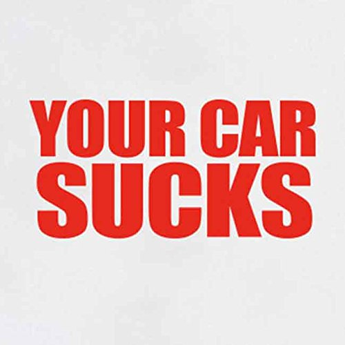 TEXLAB - Your Car Sucks - Stoffbeutel Braun
