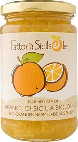 Fattoria Sicilsole Orangenmarmelade (370 g) - Bio