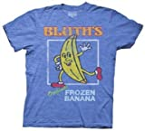 Arrested Development Bluth envejecido de Original Frozen Banana–Camiseta de manga corta para hombre
