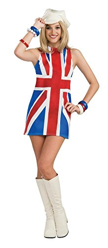 Rubie 's Offizielles British Invasion Fancy Kleid – Standard