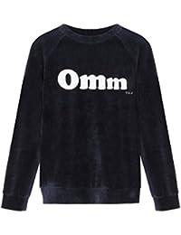 YUJ Velvet Omm Sweat-Shirt Femme