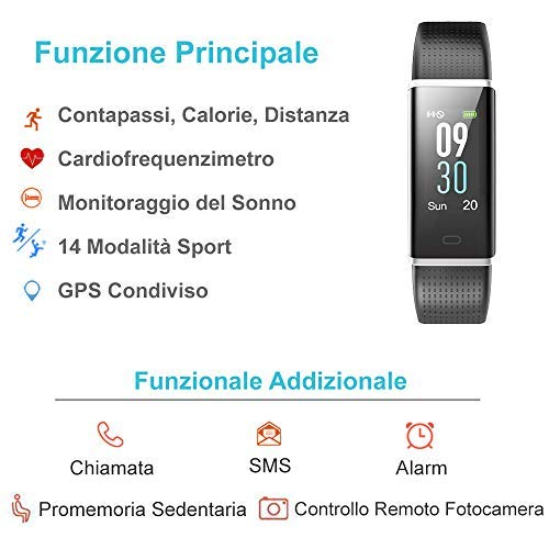 Zoom IMG-1 willful orologio fitness tracker smartwatch